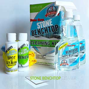 How to clean stone benchtop